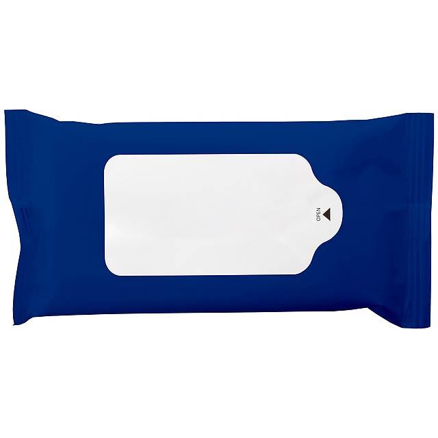 Hygiene vlhké ubrousky - modrá