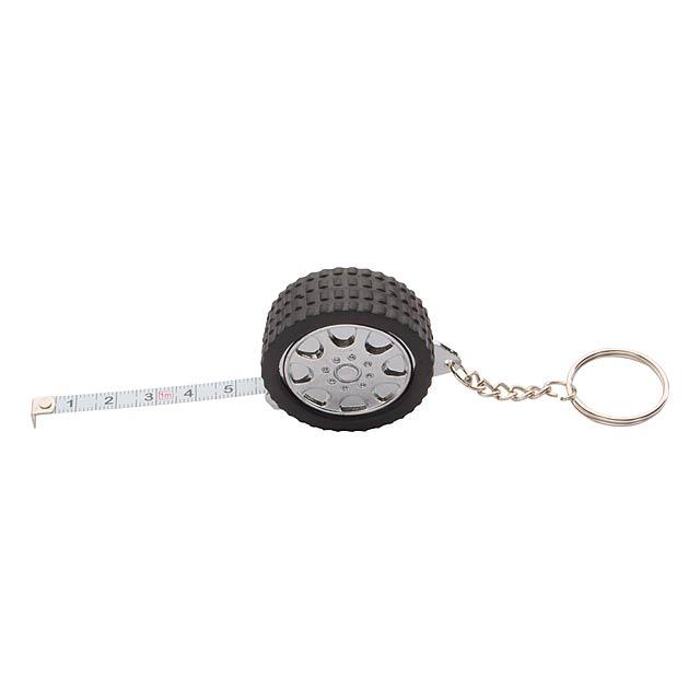 Prívesok na kľúče s metrom - čierna 0e5883213b2