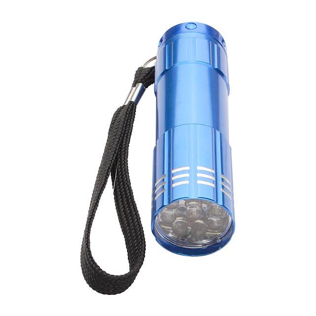Spotlight led baterka - modrá