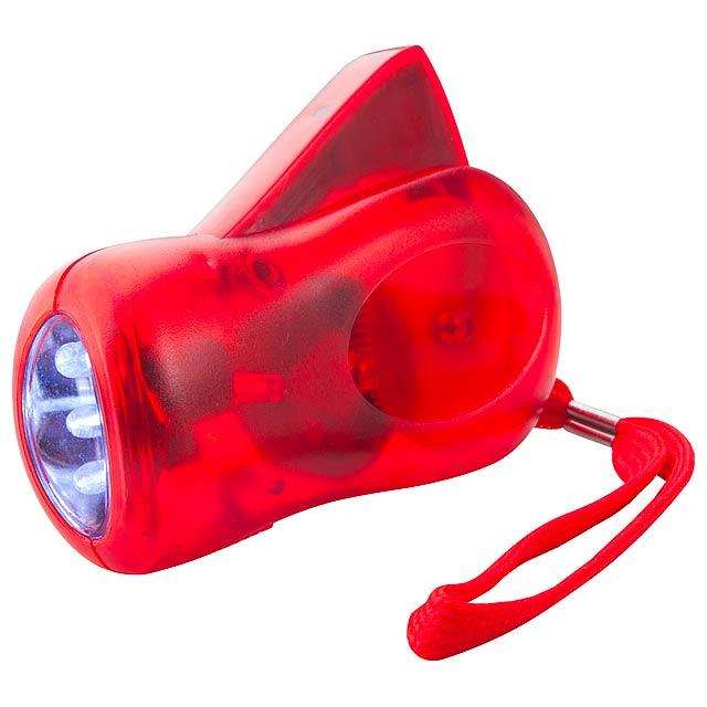 H Power dynamo baterka - červená
