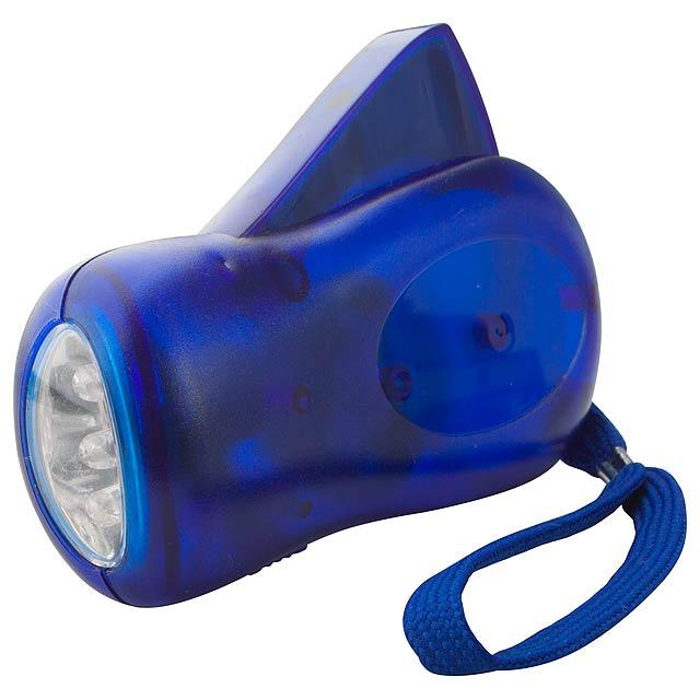H Power dynamo baterka - modrá