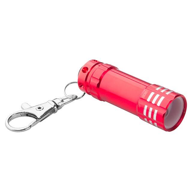 Mini flashlight - red
