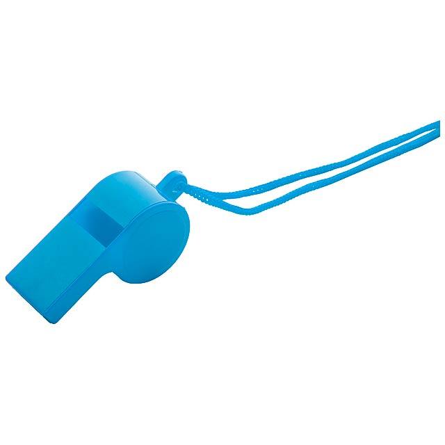 Claxo píšťalka - modrá