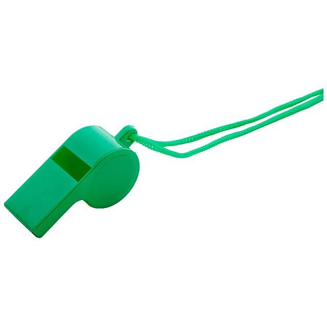 Claxo píšťalka - zelená