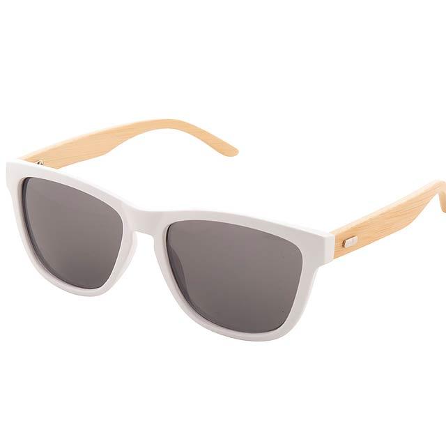 Colobus sluneční brýle - bílá