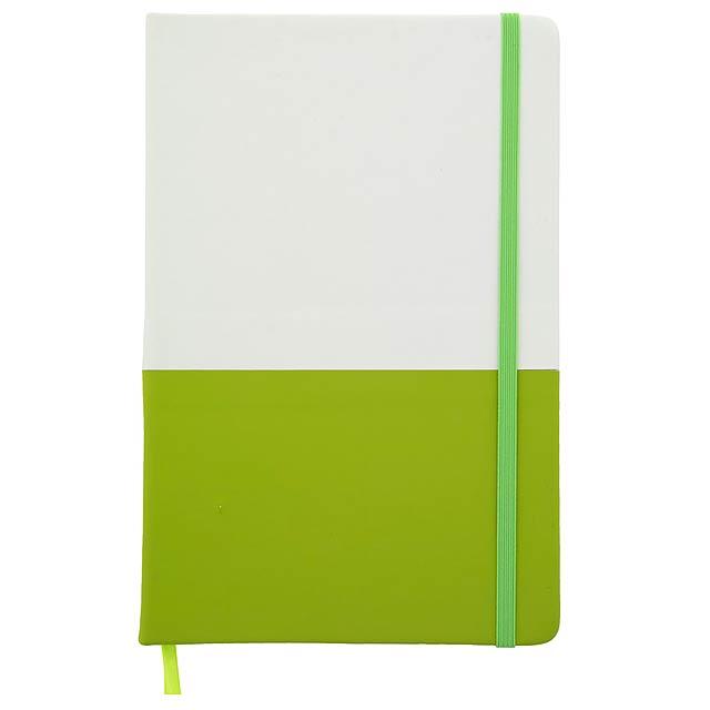 Duonote blok - zelená