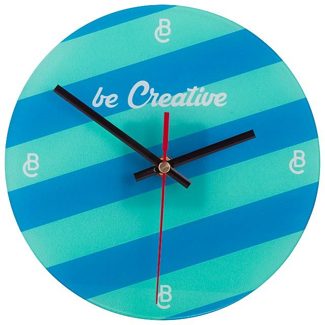 SuboTime - sublimation wall clock - multicolor