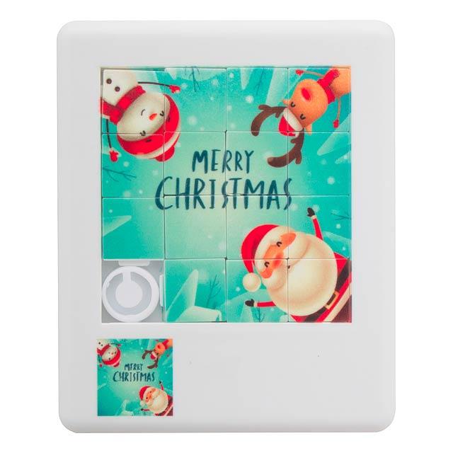 Paxmas vánoční puzzle - multicolor
