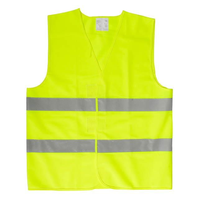 Visibo viditelná vesta - žlutá