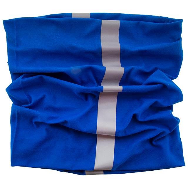 Reflex reflexní víceúčelová šála - modrá