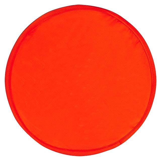 Pocket létající talíř do kapsy - červená