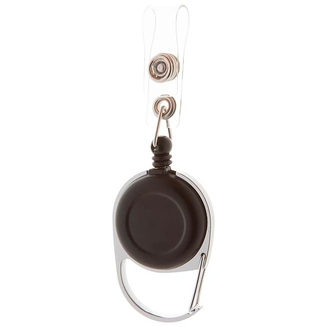 Hooky držák na skipas - černá