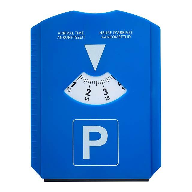 ScraPark parkovací karta - multicolor