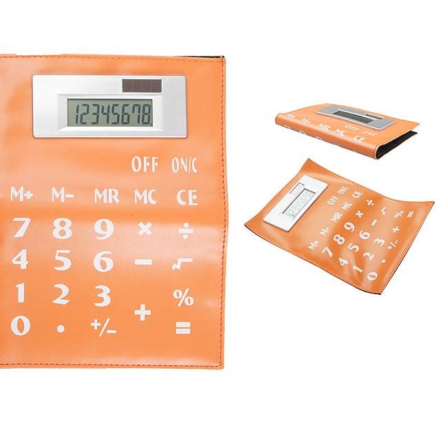 Luppis kalkulačka - oranžová