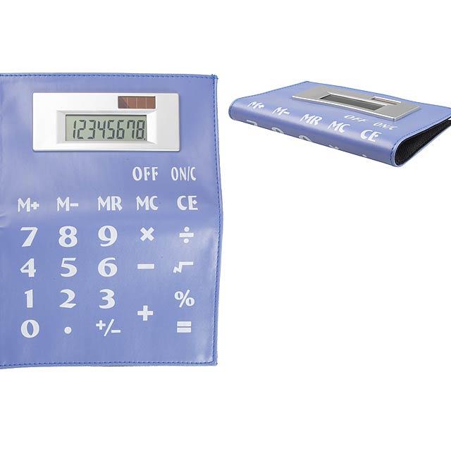 Luppis kalkulačka - modrá