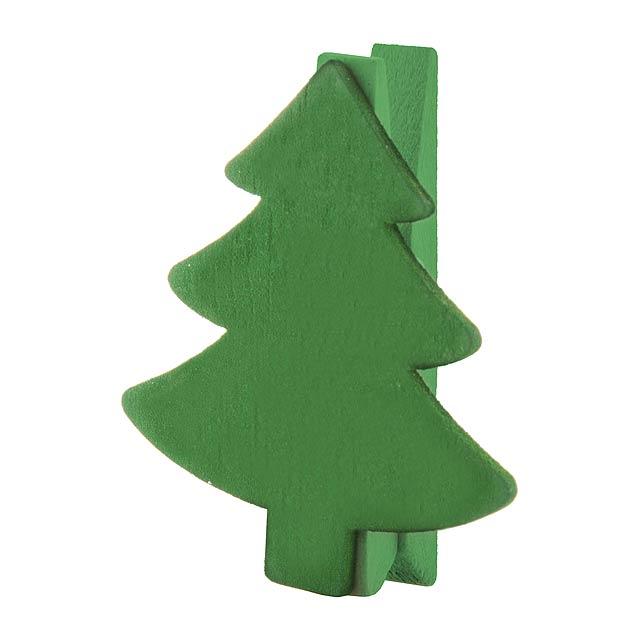 Hantala klip - zelená