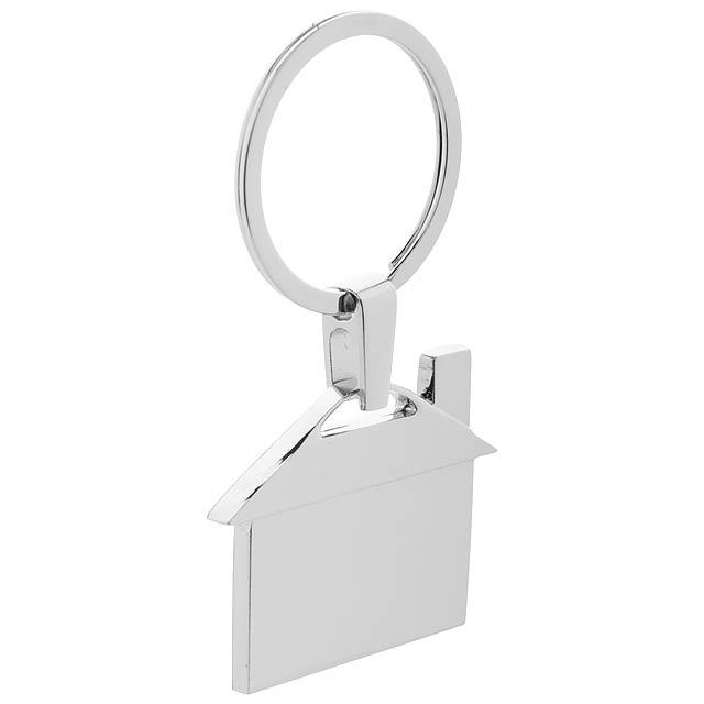 Dwell přívěšek na klíče - stříbrná