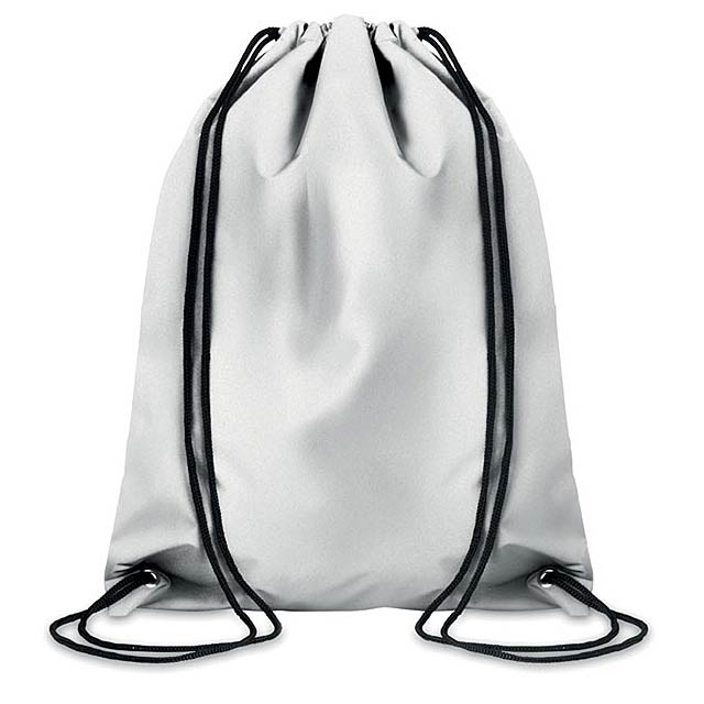 Lightyear reflexní vak na stažení šňůrkou - šedá