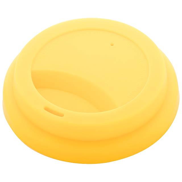 CreaCup termo hrnek na zakázku - žlutá
