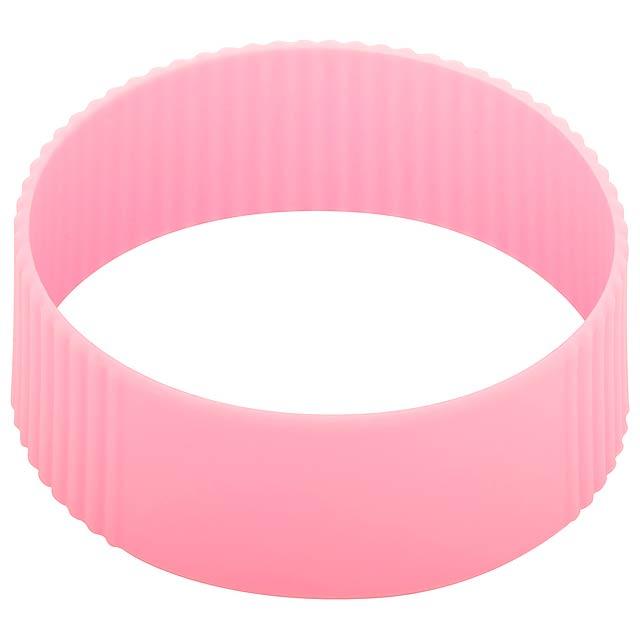 CreaCup termo hrnek na zakázku - růžová