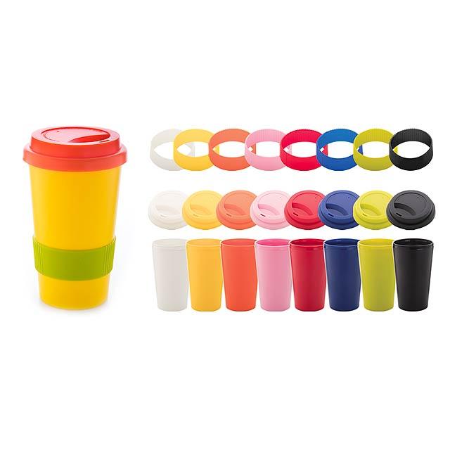 CreaCup termo hrnek na zakázku - multicolor