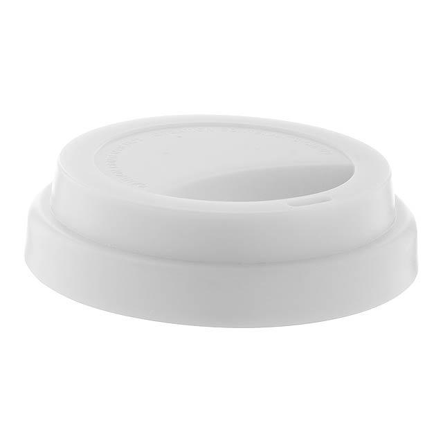 CreaCup Mini termo hrnek na zakázku - bílá