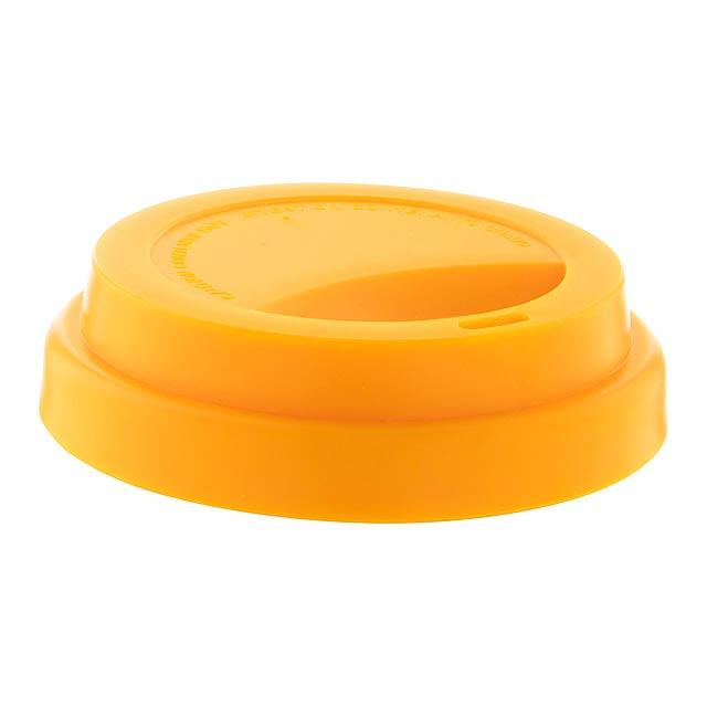 CreaCup Mini termo hrnek na zakázku - žlutá