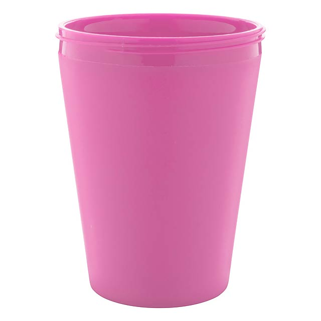 CreaCup Mini termo hrnek na zakázku - růžová