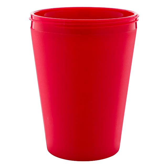 CreaCup Mini termo hrnek na zakázku - červená