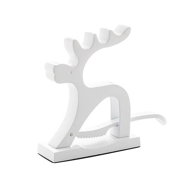Reindeer louskáček - bílá