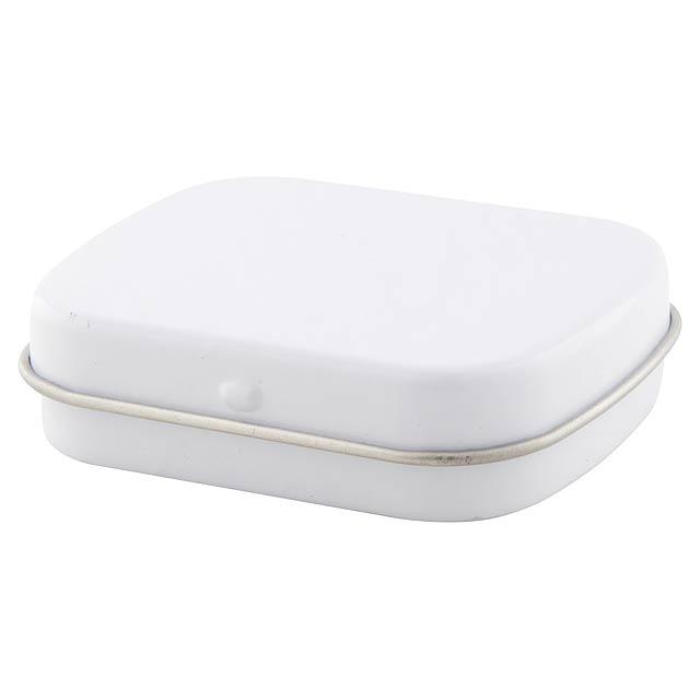 Flickies krabička s mintovými bonbóny - biela