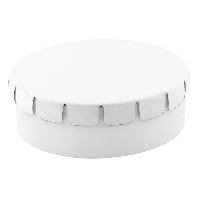 ClickToo krabička s mintovými bonbóny - biela