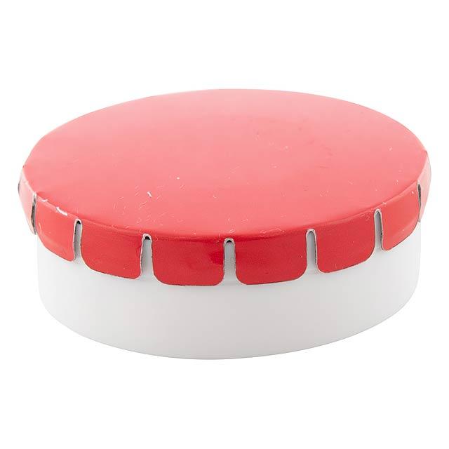ClickToo krabička s mintovými bonbóny - červená