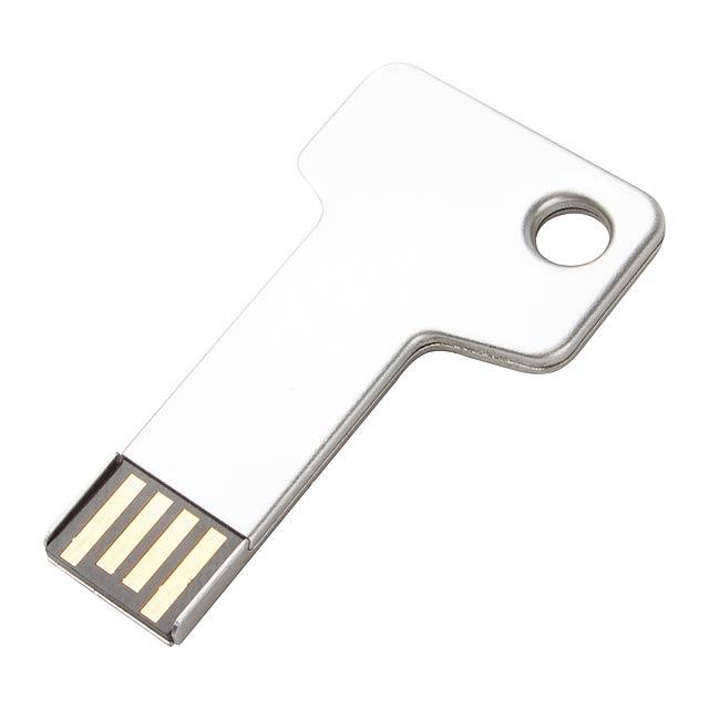 Keygo USB flash disk - stříbrná