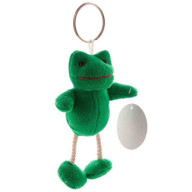 Zoony plyšová žába - multicolor
