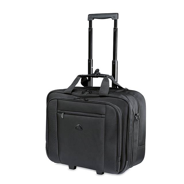 Rochester - kufřík na kolečkách - černá