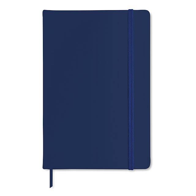 Poznámkový blok A5 - modrá