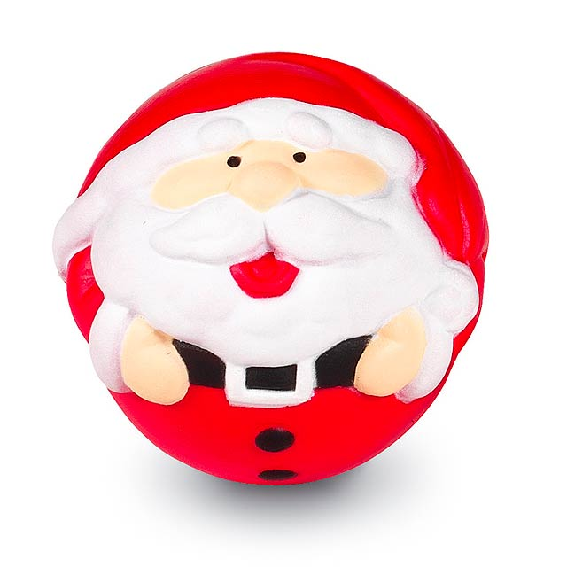 Santa Stress Ball - multicolor