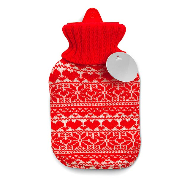 Láhev pro zahřátí - AALBORG - červená