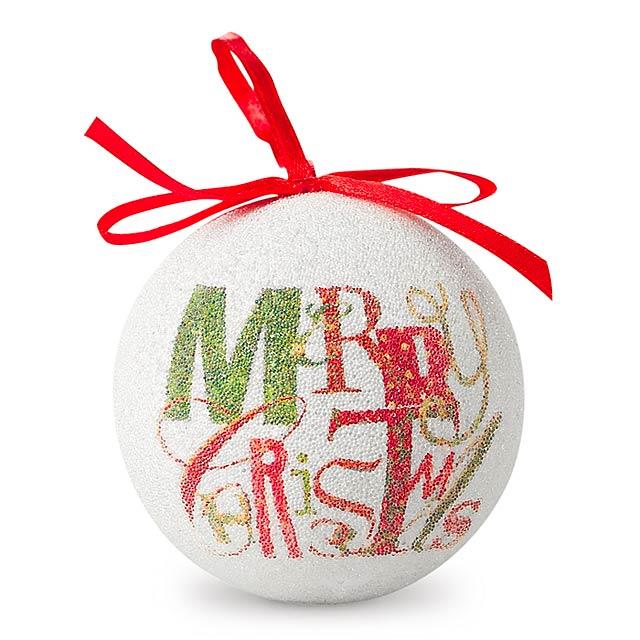 Vánoční koule v krabičce - BLANCA - multicolor