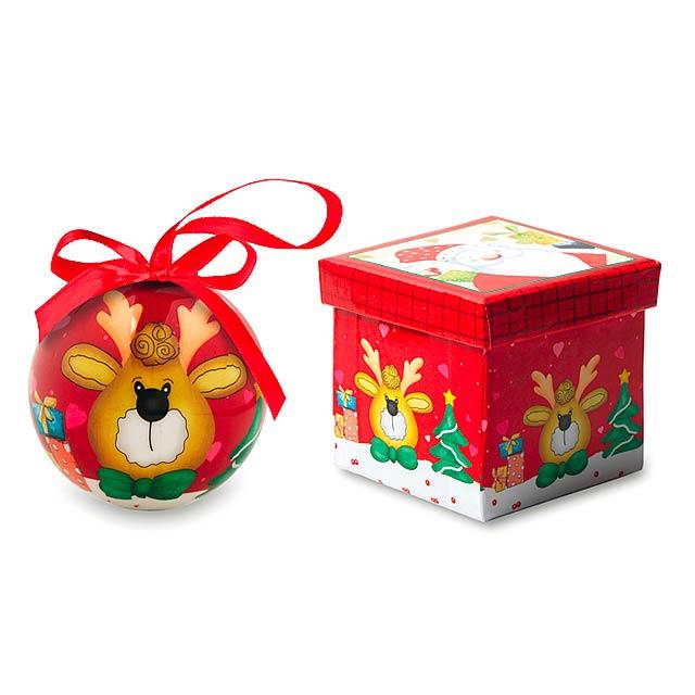Vánoční ozdoba - RENDY - multicolor