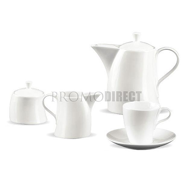 Wind - cukřenka - nádoba na mléko - bílá