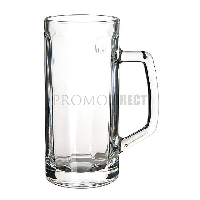 Minden - pivní korbel - transparentní