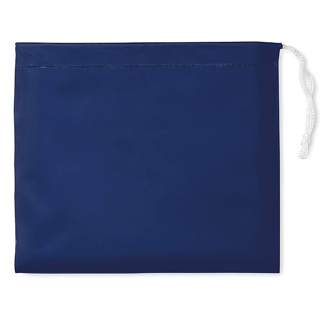 Raincoat - pláštěnka s kapucí - modrá