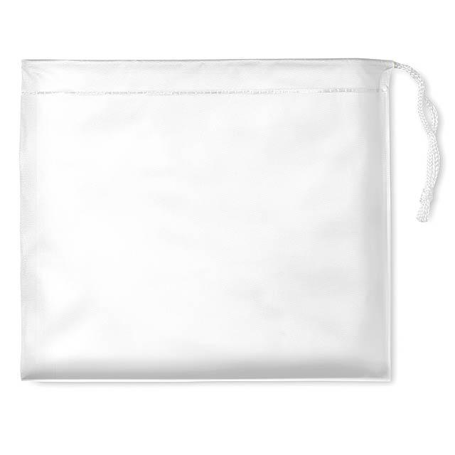Pláštěnka v pouzdře - REGAL - bílá