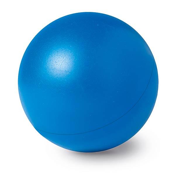 Anti - stresový míček - modrá