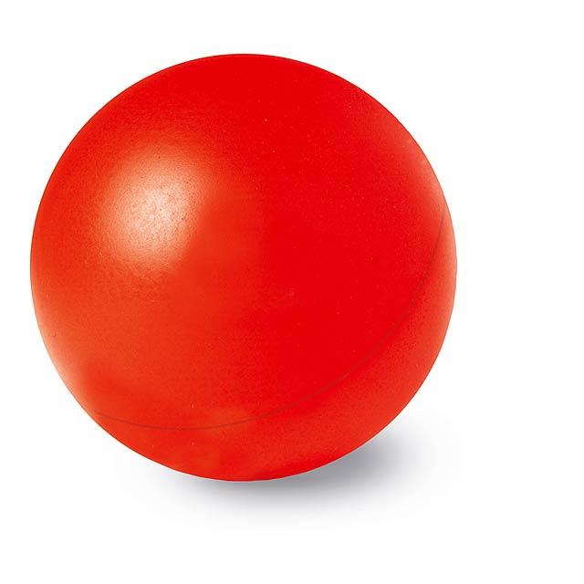 Anti - stresový míček - červená