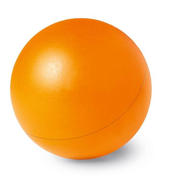 Anti - stresový míček - oranžová