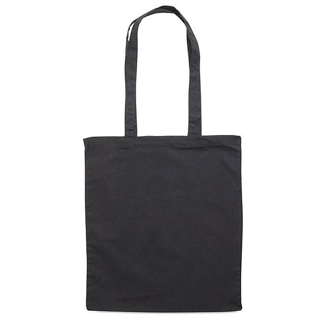 Fairs - nákupní taška - černá
