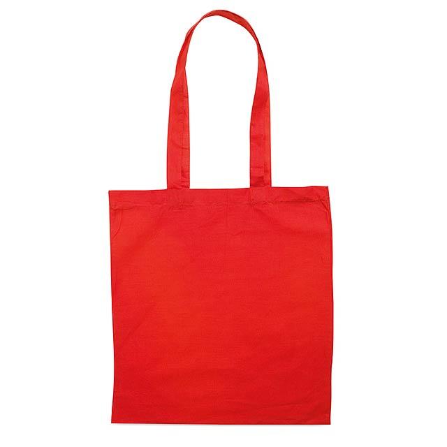 Fairs - nákupní taška - červená